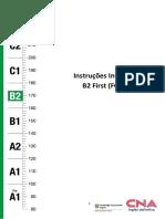 B2 First - FCE Instruções Invigilator_Setembro_2021_
