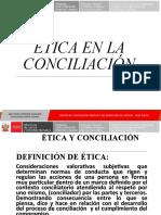 Etica en La Conciliacion