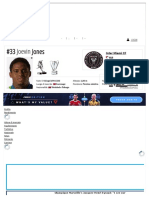 Joevin Jones - Profilo giocatore 2021 _ Transfermarkt