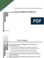 Damodaran - Corporate Finance -Measuring Return