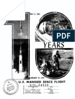 10th Anniversary of U.S. Manned Space Flight