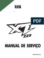 Manual de Servico XT225