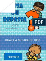 PASSA OU REPASSA - 3º ANO - MATERIAISPDG