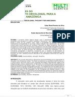 IMPLICAÇÕES DO PENS DECOLONIAL ED AMAZÔNICA