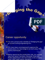 Pwr Pt Science Bridge Gap