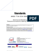 Cabling Standard - ANSI-TIA-EIA 568 B - Commercial Building Telecommunications Cabling Standard