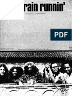 THE DOOBIE BROTHERS - LONG TRAIN RUNNIN - 1973 - SHEET MUSIC