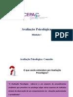 Mod. I - Testes, Avaliação Psicológica e Elaboração de Laudos