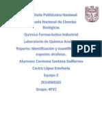 Identificación de Carbonatos, Bicarbonatos y OH