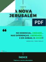 12. A NOVA JERUSALÉM (YouTube - Graça e Conhecimento (1)