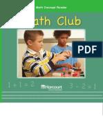 Math Concept Reader- G1-Math Club