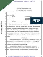 Claridge v. Rockyou, 09-6032 PJH (N.D. Cal.; Apr. 11, 2011)