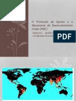 Mecanismos de Desenvolvimento Limpo/Mercado de Carbono/Protocolo de Kyoto/Tributação dos REC's/