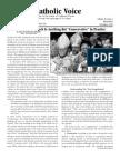 The Catholic Voice ( Newsletter of the Society of Traditional Roman Catholics - November 2010 )