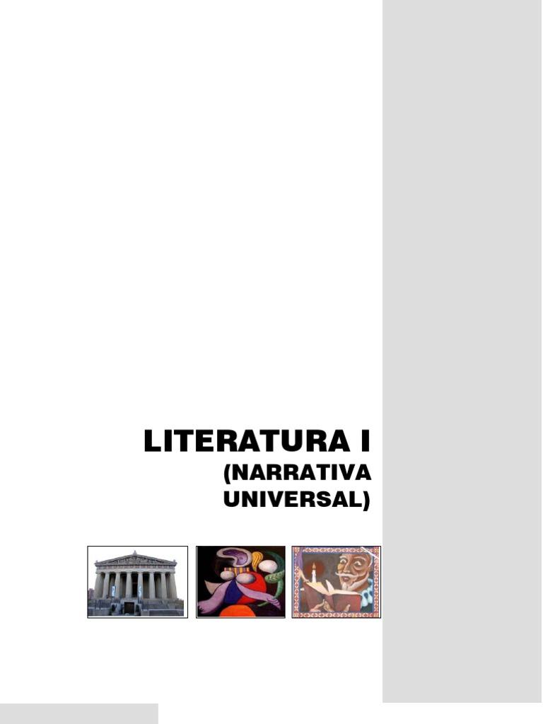 Literatura 1 Libro de apoyo docente ( México DGB SEP)