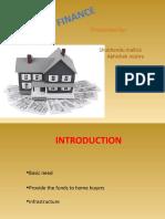 Housing Finance - ppt