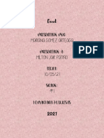 Excel MARIANA