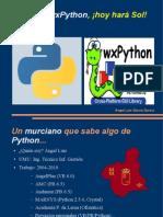 Python y wxPython