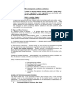 MS-1 management functions & behaviour