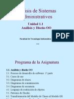 Analisis y Diseño OO