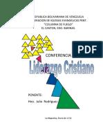 EL  LIDERAZGO-CONFERENCIA PASTORAL