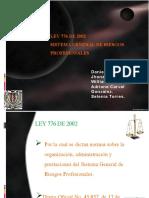 LEY 776 DE 2002 II - SEGUNDO