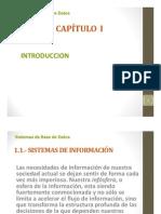 Cap i - Fundamentos de Bases de Datos