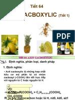 axit cacboxylic t1hay