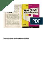 EDGARD LEUENROTH. Anarquismo - Roteiro de Libertação Social