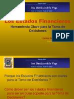 UIGV Estados Financieros y el CPC