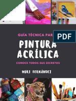Guía técnica para Pintura Acrílica