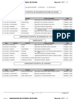 Agenda desportiva da AF Évora para a semana de 14 a 20 de Abril de 2011