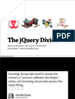 The jQuery Divide