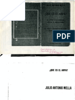 1928. Mella - Que es el ARPA.