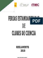 Reglamento Clubes de Ciencia