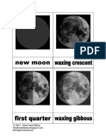 Moon Phases 3-Part Cards