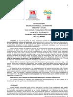 Agricultura Precision Mecanica Agricola en Argentina
