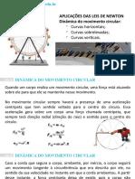 Dinâmica do movimento circular