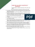 CUESTIONARIO DE ALCANOS-ALQUINOS