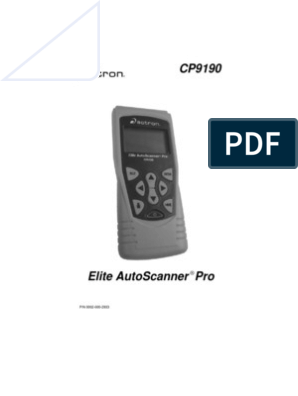 actron cp9190 manual | Car | Automotive Industry