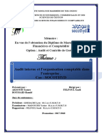 Audit Interne Et l'Organisation Comptable Dans l'Entreprise (4)