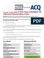 ACQ Business AWARDS Nomination Form_distributed