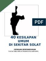 Buku 40 Kesilapan Umum Sola[JWG]