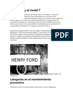 Henry Ford y El Model T