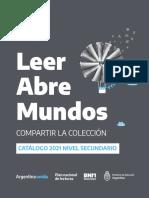 CatalogoPNLLeerAbreMundosSECUNDARIA2021
