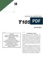t105 Yamaha. Manual Usuario EspañolPDF