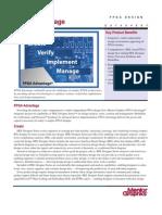 FPGA advantage_Datasheet_0405