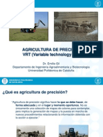 Agricultura Precision VTR