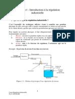 Chapitre1 Introduction à la régulation