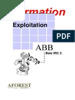 ABB Exploitation Baie IRC5